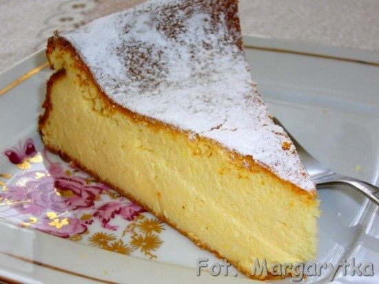 Kulinarne szaleństwa Margarytki: Sernik wiedeński