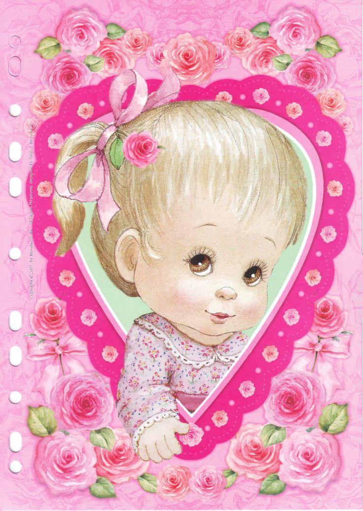 Красивые нежные, открытки малышей