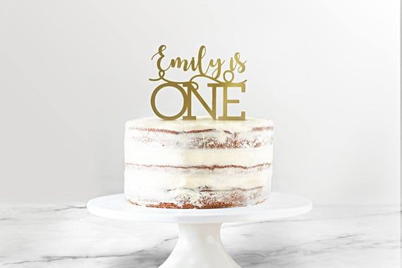 24++ Cake topper personalised birthday trends