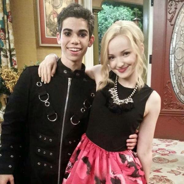 Cameron boyce & dove cameron from liv and Maddie