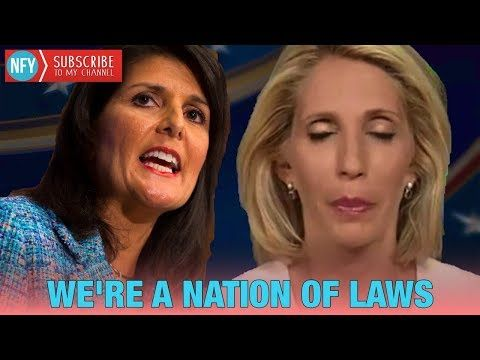 """""""We Are A Nation Of Laws"""" - Nikki Haley Educates CNN Dana Bash On Illegal Immigration - YouTube"""
