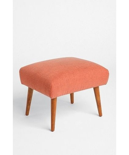 modern ottomans and cubes by Urban Outfitters  MIDCENTURY MODERN