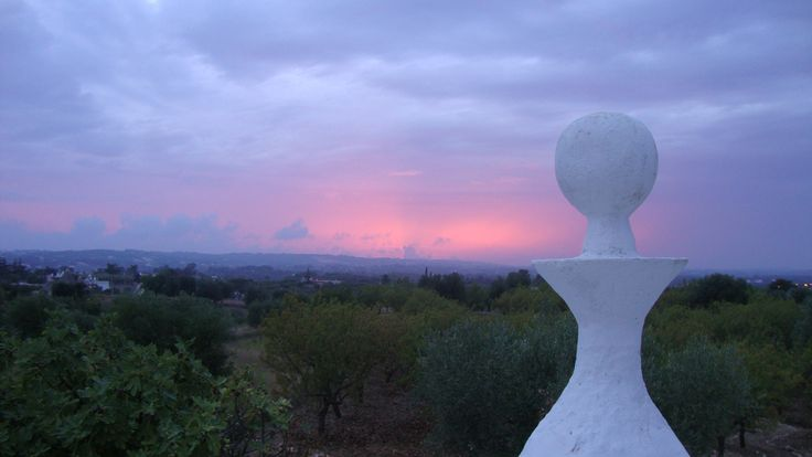 TrulliVistas, a beautifully restored 2 bedroom, 2 bathroom trulli for rent, with private swimming pool, in countryside of Ostuni Puglia Italy. www.homeaway.co.uk/p460286 #trulliforrent #TrulliVistas #UniqueHolidayHomes