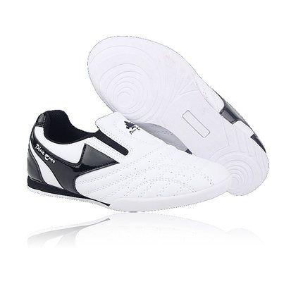 promo breathable pu adults children taekwondo shoes men wear breathable training taekwondo shoes karate #karate #shoes