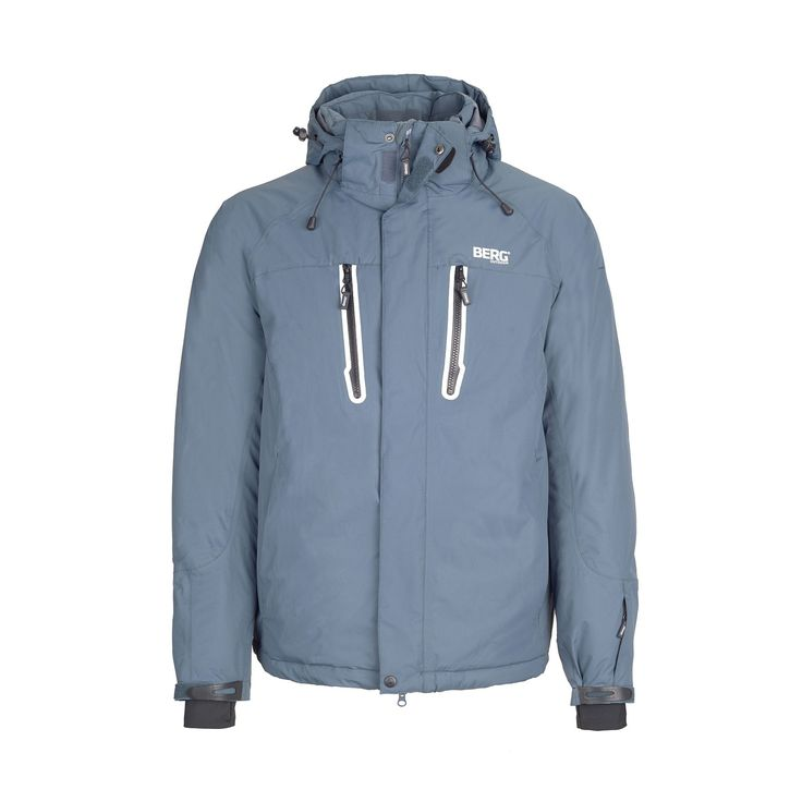 Winter jacket with totally waterproof and breathable membrane, prepared to offer remarkable performance on snow adventures.
