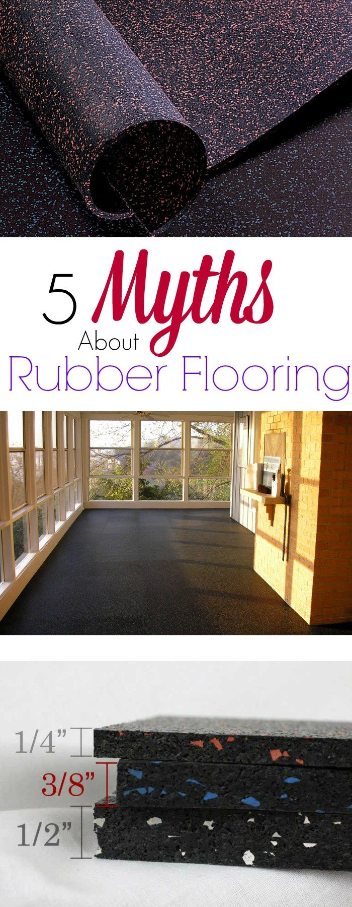 5 Myths About Rubber Flooring Discover The Truth Best For Homes And