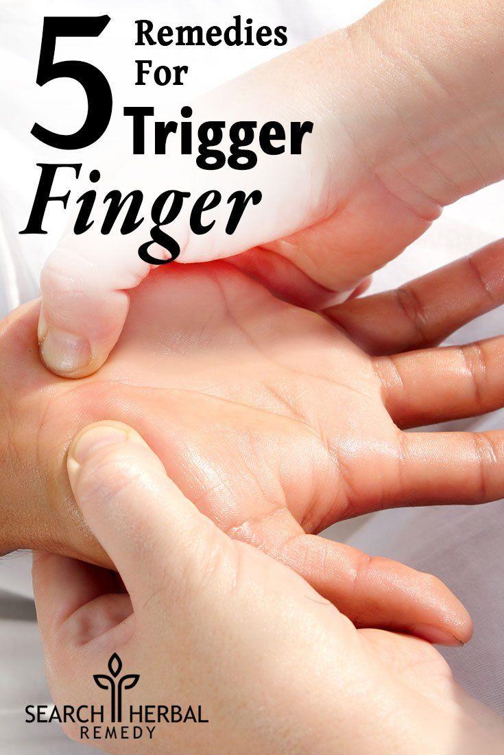 5 Remedies For Trigger Finger
