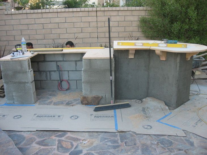 Diy Built In Grill Outdoor Kitchen Pinterest Backyard And Patio