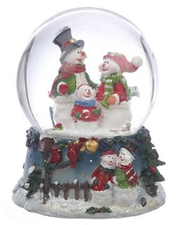 Buy Small Snowman Snow Globe - Family - Christmas Snow Globes, Personalized Snow Globes at the Ornament Shop. Over 5000+ items.