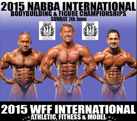 Image of 2015 NABBA International Championships Poster