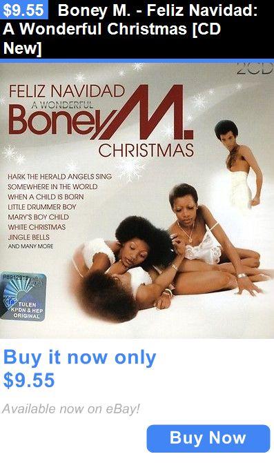 Christmas Songs And Album: Boney M. - Feliz Navidad: A Wonderful Christmas [Cd New] BUY IT NOW ONLY: $9.55