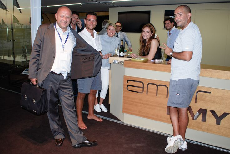 Amer Yachts Booth @ 54th Genova International Boat Show