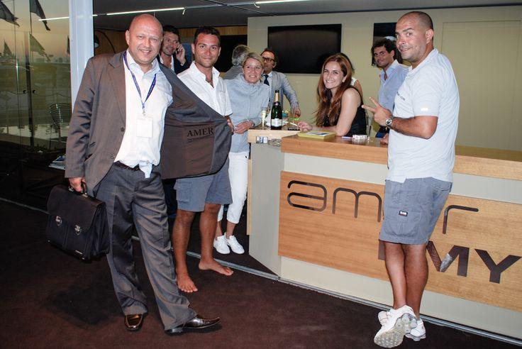 Amer Yachts Booth @ 54th Genova International Boat Show