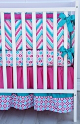 Caden Lane Lila 3 Piece Crib Bedding Set