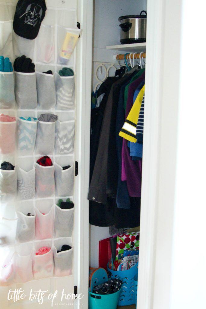 Хранение носков или шарфиков