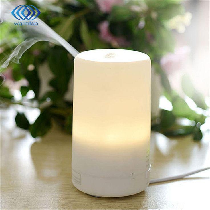 New ích 3 in1 led ánh sáng ban đêm usb tinh dầu ẩm không khí siêu âm điện aroma khuếch tán hương liệu khô bảo vệ