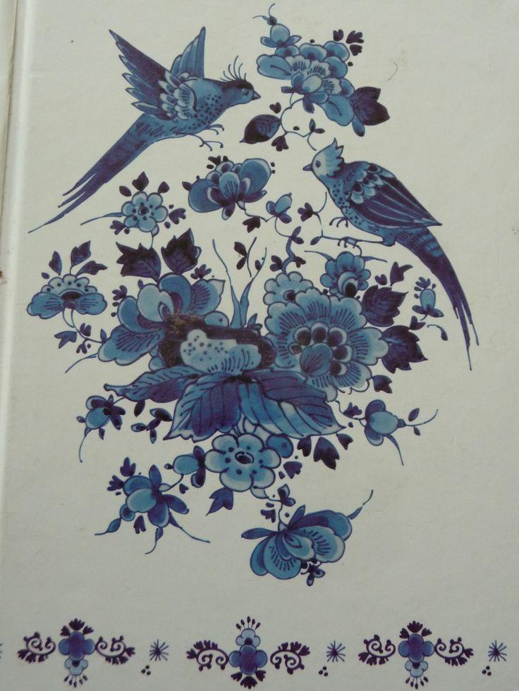 Lovely delft blue....