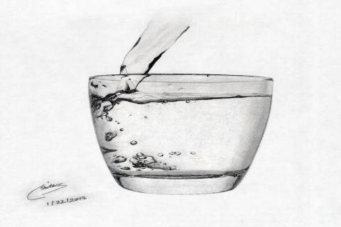 Život je ako pohár vody