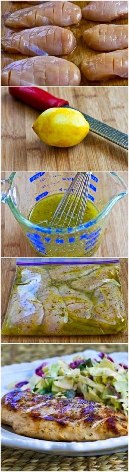 The BEST Greek Grilled Chicken. SO Easy to Make!!