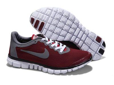 Nike Free 3.0 Buty Do Biegania Dla Mężczyzn Brązowy Biały-szary Online  BEZPŁATNA WYSYŁKA DHL 258.19zł