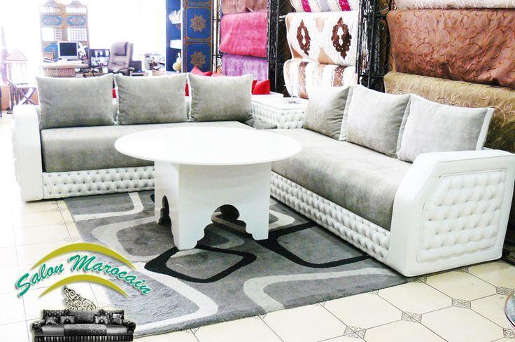 Salon marocain moderne 2016