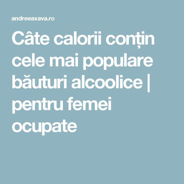 Câte calorii conțin cele mai populare băuturi alcoolice | pentru femei ocupate