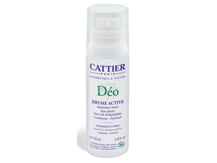 Cattier – Deodorant bio Brume Active(100ml)