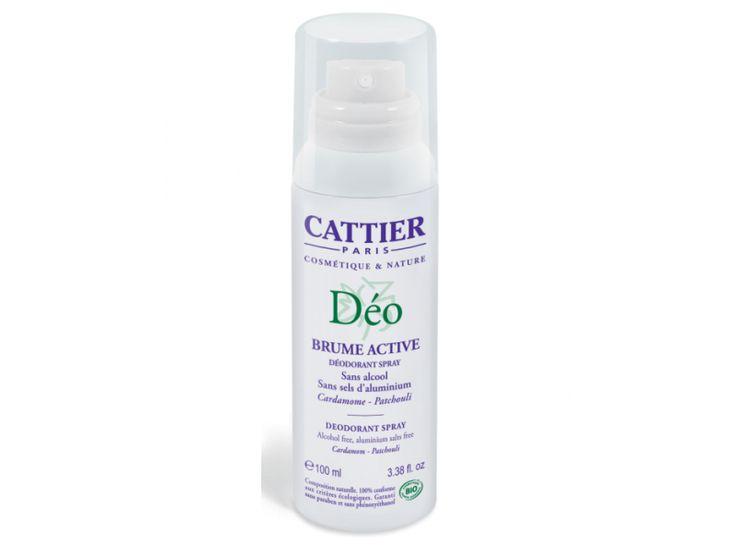 Cattier – Deodorant bio Brume Active(100ml)