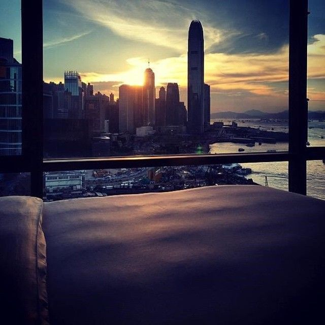 We woke up like this. Photo taken at Grand Hyatt Hong Kong by @beenupgraded on Instagram.