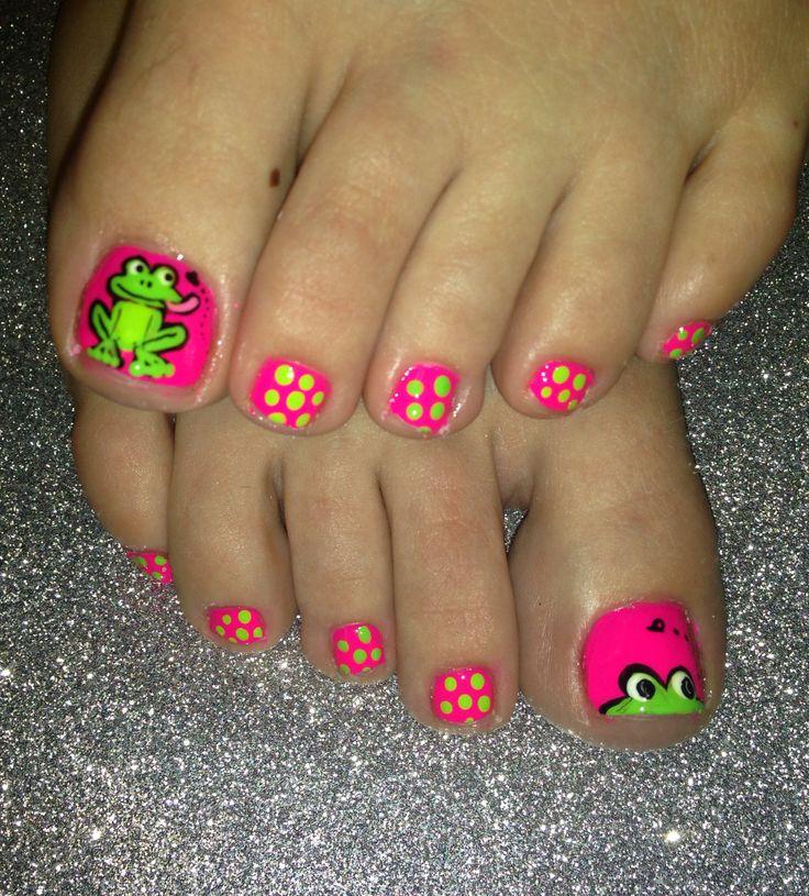 Frog Nail Art: Hair And Nails