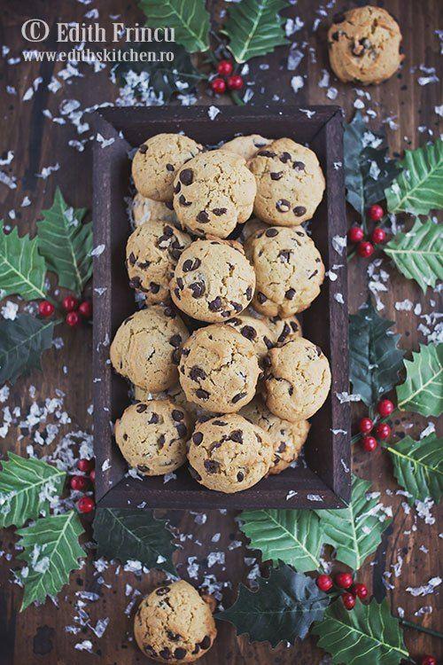 Chocolate chip cookies - easyest recipe! Video recipe. Cea mai rapida reteta! Reteta video!