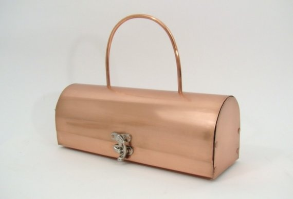 copper handbag #copper