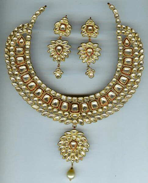 Indian Jewellery And Clothing Polki Necklace Sets From: 308 Best Images About Kundan Real Daimond Polki Jewellry