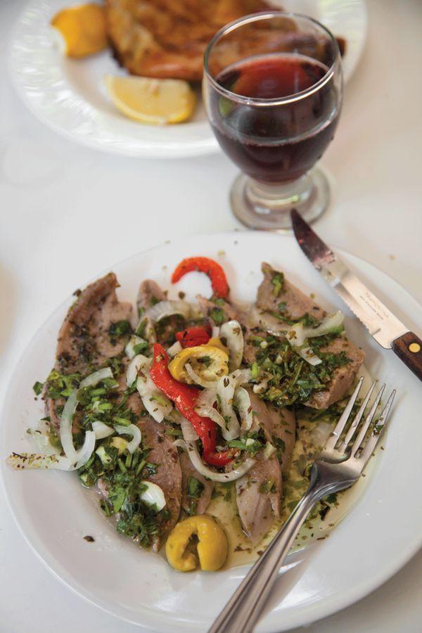 Chuletas de Ternera al Sartén con Salsa de Tomate y Hierbas (Pan-Fried Veal Cutlets with Herb Tomato Sauce) Recipe | SAVEUR