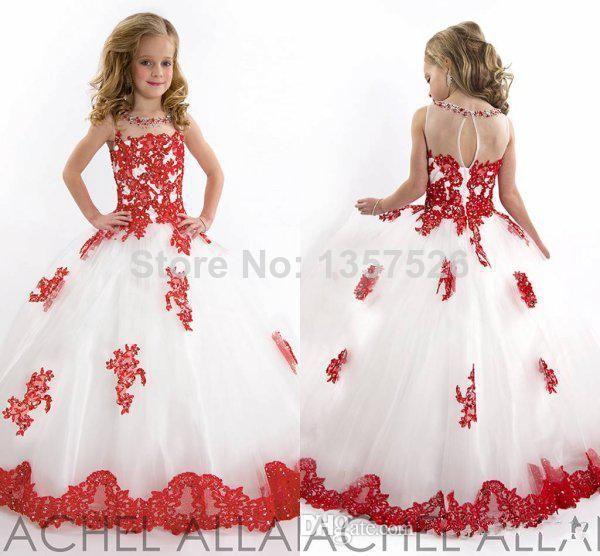 Топ великолепная новое поступление 2014 маленьких детей юбка аппликации кристалл красоты органза девушки платье для конкурса платья MC052