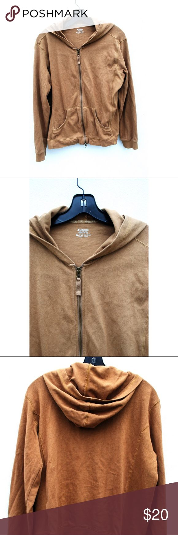 Columbia Brown zip up This Columbia brown zip up is in perfect condition coming in a size Extra Large. Columbia Jackets & Coats