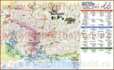 Карты Барселоны