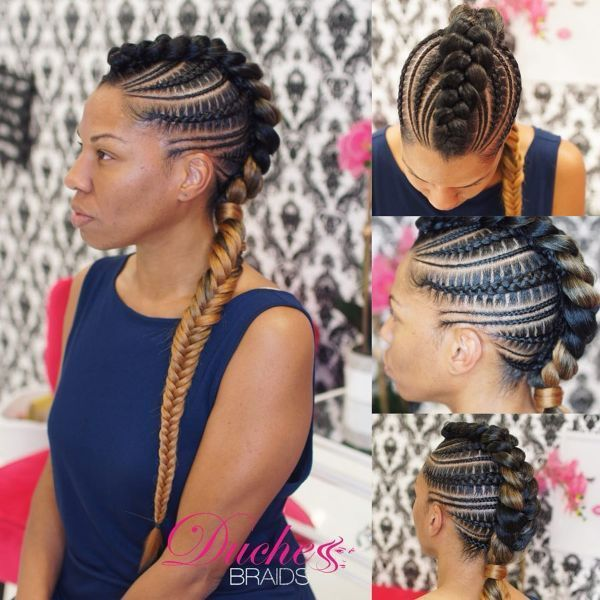 Pictures Untapped Goldmine Of Mohawk Braids Hairstyles New Natural Hairstyles Mohawk Braid Braided Mohawk Hairstyles Cornrows Braids