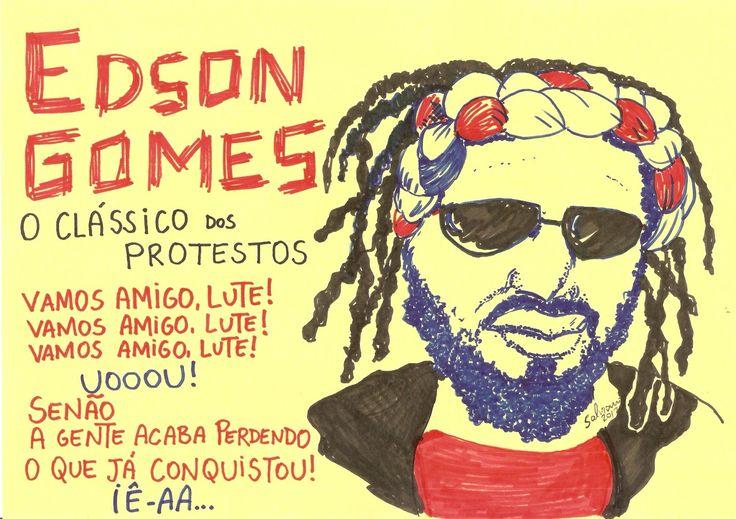 EDSON GOMES - O Clássico dos Protestos ~ Pense FORA DA CAIXA