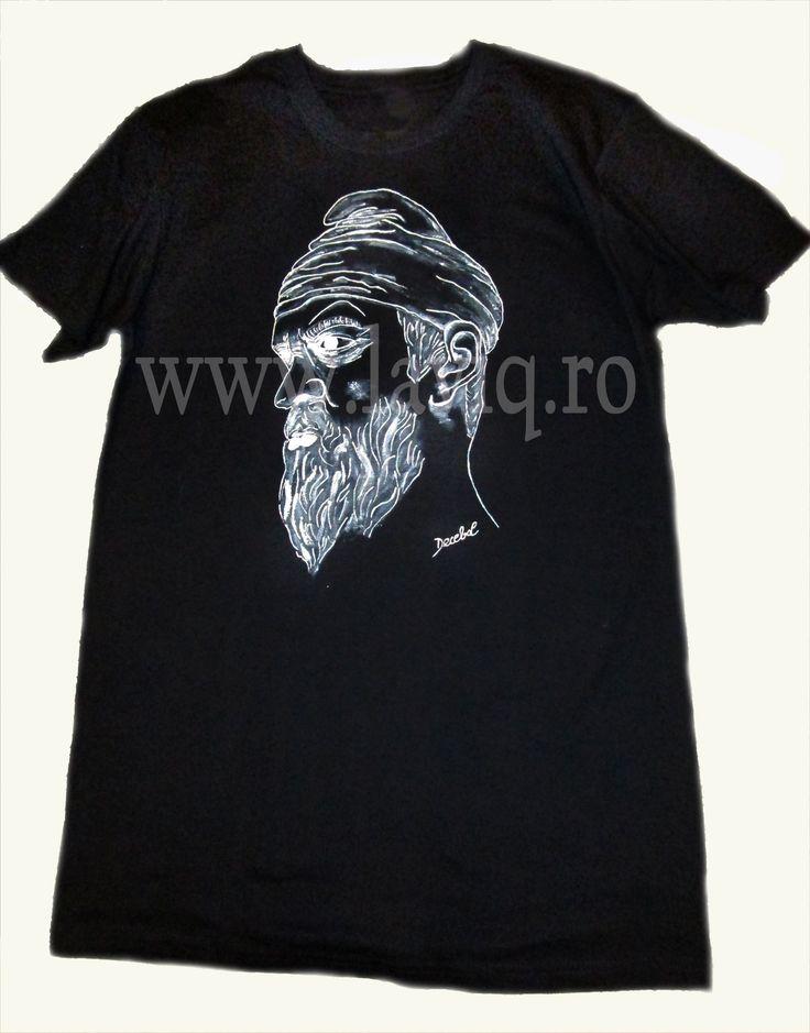 Tricou pictat DECEBAL  www.laviq.ro www.facebook.com/pages/LaviQ/206808016028814