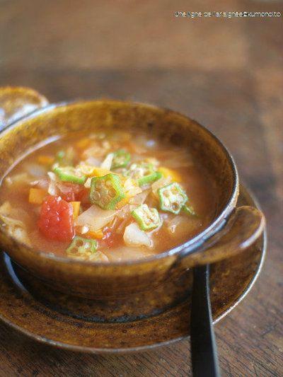 ガンボスープ風。 by ささきのりこ。さん | レシピブログ - 料理ブログ ...