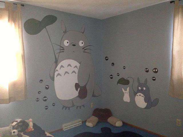 Totoro wall <3
