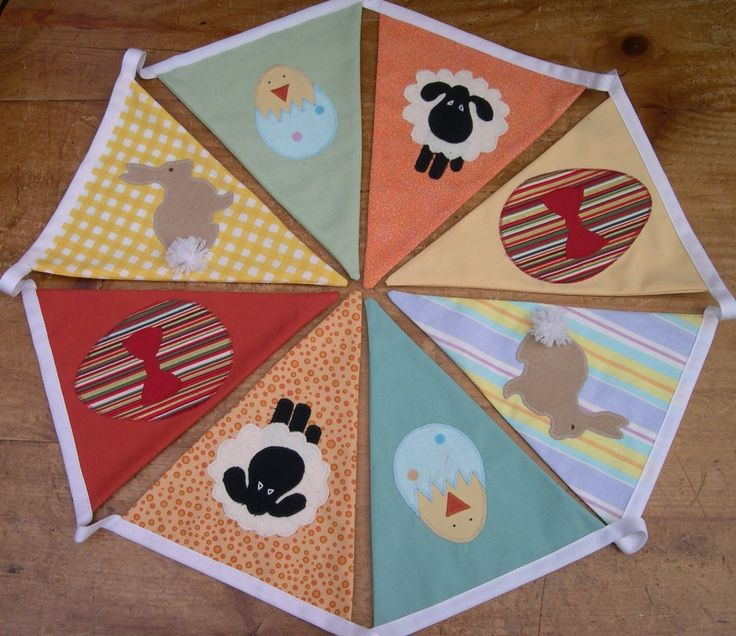 Easter Bunting Tutorial and Downloads - Sew, What's New?
