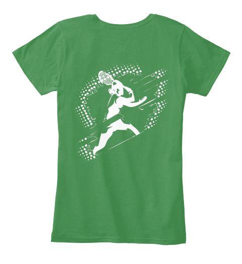 Best Feminist T Shirt Kelly Green  Women's T-Shirt Back