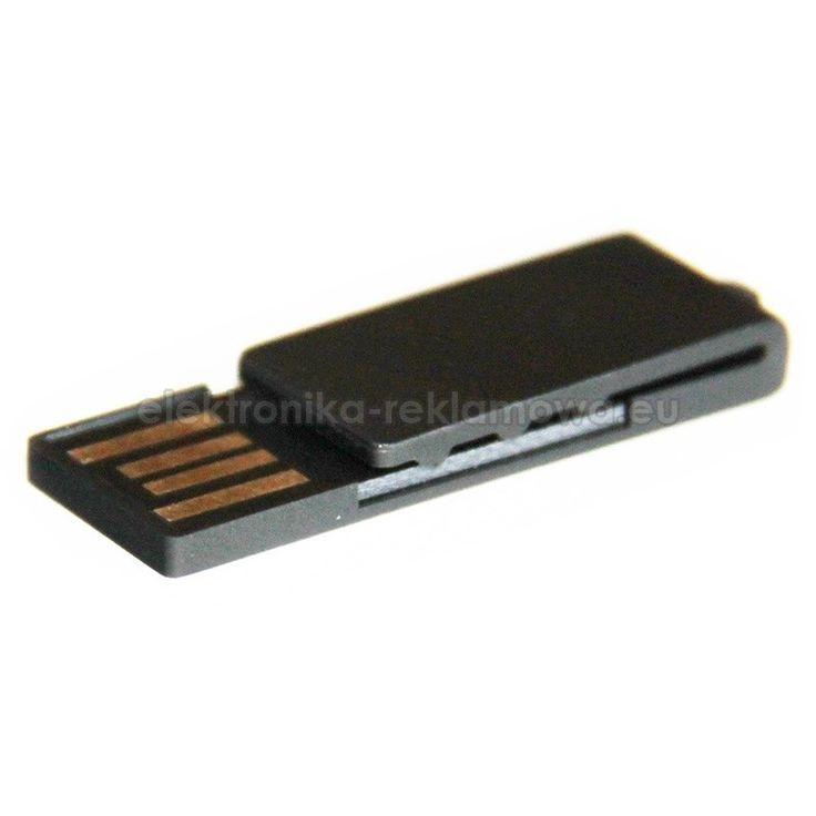 Atrakcyjna i praktyczna pamięć USB. Kształt spinacza pozwala ją wygodnie wsunąć na dokumenty kieszeń koszuli. Dodatkowym atutem jest wodoodporny moduł pamięci. #elektronikareklamowa #pendrive #spinacz #zlogo
