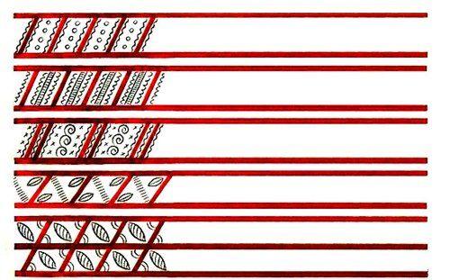 Мезенская роспись. Символика узора. Элементы орнамента » Перуница