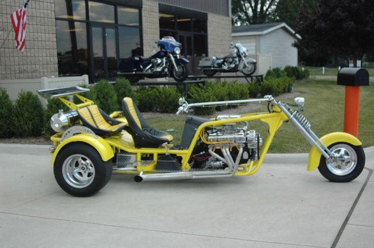 V8 Chopper trike, Iron...