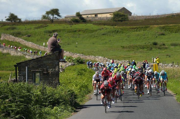 "The ""Tour De France"" In Yorkshire"