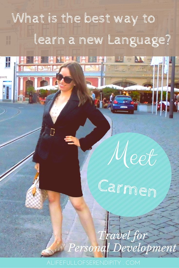 Best way to learn a new Language - When Carmen from 'Carmen Everywhere' decided to go to Germany to learn German, she quickly realised that there are certain ways that help you learn a language so much quicker. Click on the Pin to learn more.