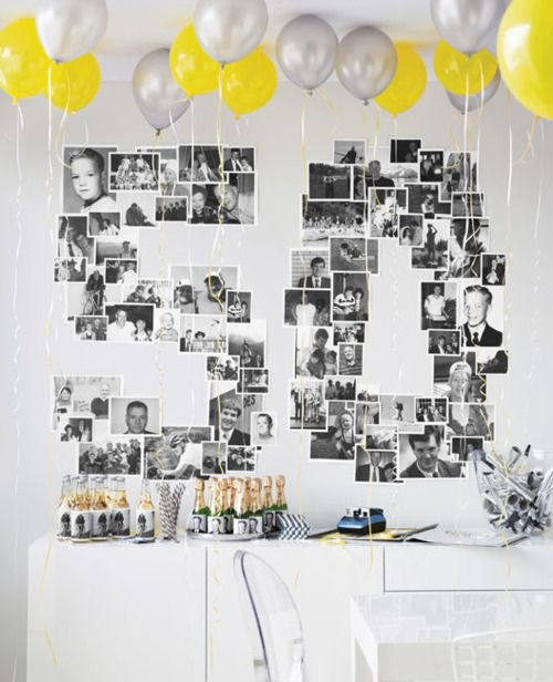 HallReady: The art of display. Ideas on what to exhibit and how to do it.: Birthday Decor Idea